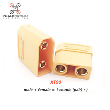10 pairs XT90 Male Female Bullet Connector Plug for RC Motor Lipo Battery Quadcopter Multicopter