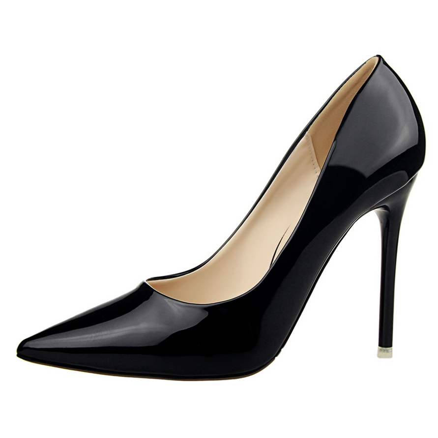 12 Colors 2016 New Fashion High Heels Women Pumps Thin Heel Classic White Red Beige Gold Sliver Sexy Wedding Shoes SMYDS-F0063