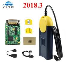 Diagnostic tool V2018.3 Multi Di@g Multi diag Access J2534 Pass Thru OBD2 Device multidiag Multi Diag v2018