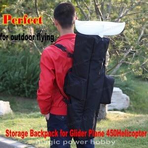 Image 1 - Plecak wielofunkcyjny torba do przechowywania torebka dla RC szybowiec samolot helikopter 450 łatwy do przenoszenia