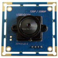 2 STKS 1080 P CMOS OV2710 full hd mini android usb webcam camera module voor robotic systeem, machine vision, Enforcement Recorder
