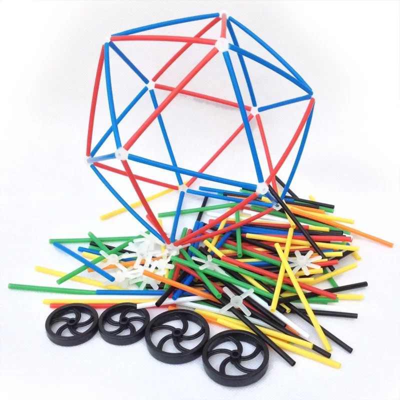 284 шт. 4D DIY пластик игрушечные лошадки соломы бой вставлен Строительство наборы игрушечные лошадки Конструкторы кирпичи Рождественский подарок