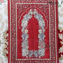 wholesale Islamic Muslim worship Prayer Rug Salat Musallah blanket Tapis Carpet Tapete Banheiro travel prayer mat 70*110