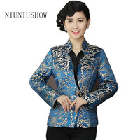 New Arrival High Quality Chinese Tradition Style Jackets Elegant Slim Jacket Coat Tang Suit Tops Plus