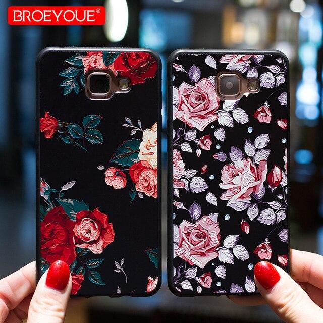 Trường hợp Đối Với Samsung Galaxy A7 2018 A3 A5 A7 J3 J5 J7 2017 S7 Cạnh S8 S10 S9 Cộng Với Hoa điện thoại Trường Hợp Đối Với iPhone 5 5 S X 8 7 6 6 S Cộng Với
