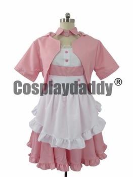 OW Reaper Kawaii Pink Dress Cosplay Costume F006