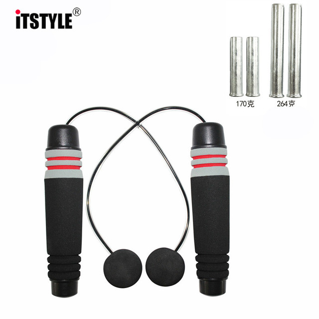 ITSTYLE Load Weight cordless Training Exercise Jumping Ropes Bodybuilding Wireless Weights Gym Equipment Corda De Pular