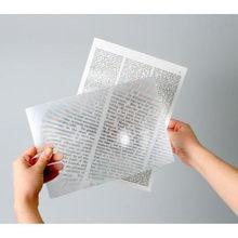 8x retangular handheld iluminado lupa de leitura promocional atacado 135*100mm
