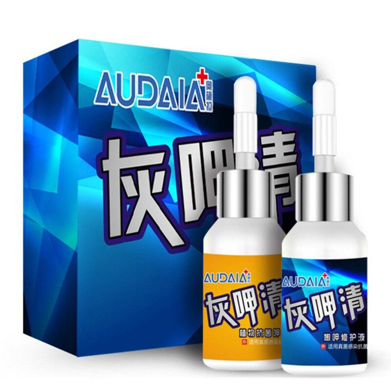 Et utvalg kinesisk urtemedisin Formel Nail Treatment Care Nail Svamp - Manikyr
