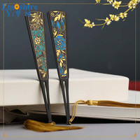 Classical Creative Wood Retro Bookmarks Gifts Student Items Office Material Tassel Stationery Book Mark School Supplies