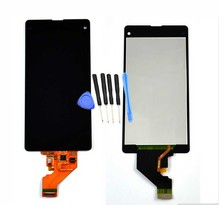 For Sony Xperia Z1 compact M51w z1 mini D5503 100% New LCD Display Touch screen with digitizer assembly + Tools Black Fast Ship