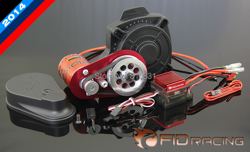 FID 2014 Remote control electric starter with new motor for Losi 5ive baja 5b ,5t,ss (rc car .toy) fid rear axle c block for losi 5ive t mini wrc