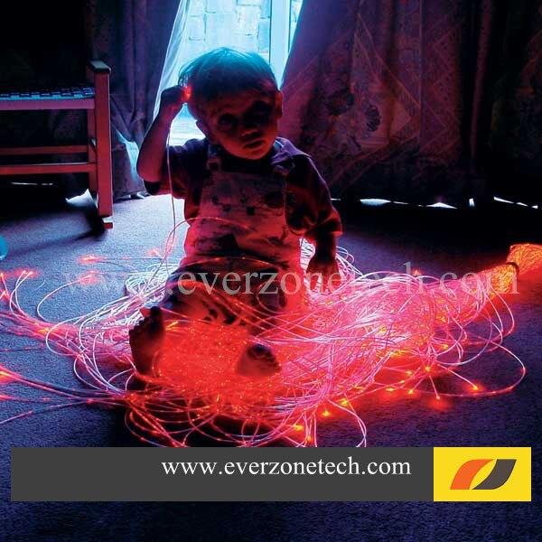 RGB Renkli LED Fiber Optik Paket 60 adet 3*0.75mm 2 m Perde Kablosu ile IR uzaktan kumanda FY-750 * 3-002RGB Renkli LED Fiber Optik Paket 60 adet 3*0.75mm 2 m Perde Kablosu ile IR uzaktan kumanda FY-750 * 3-002
