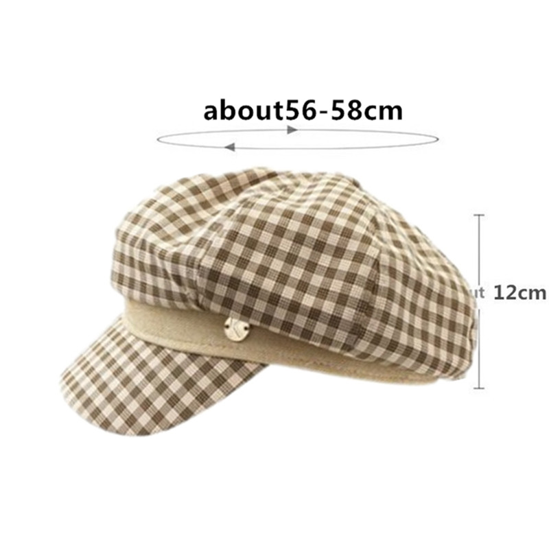 XdanqinX Elegant Delicate Adult Women 39 s Cap Newsboy Caps Fashion British Octagonal Hat For Women Novelty Personality Hip Hop Hat in Women 39 s Newsboy Caps from Apparel Accessories