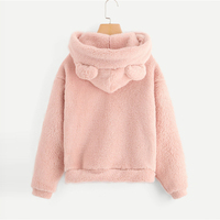 Pullover hoodie Teddy Osito casual otoño 1