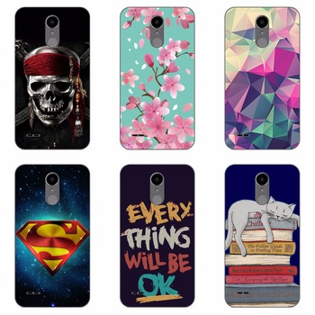 fashion style phone case  Flower colour Mobile phone shell For LG K10 2017 Hard plastic Phone Case colorful painting  skin shell