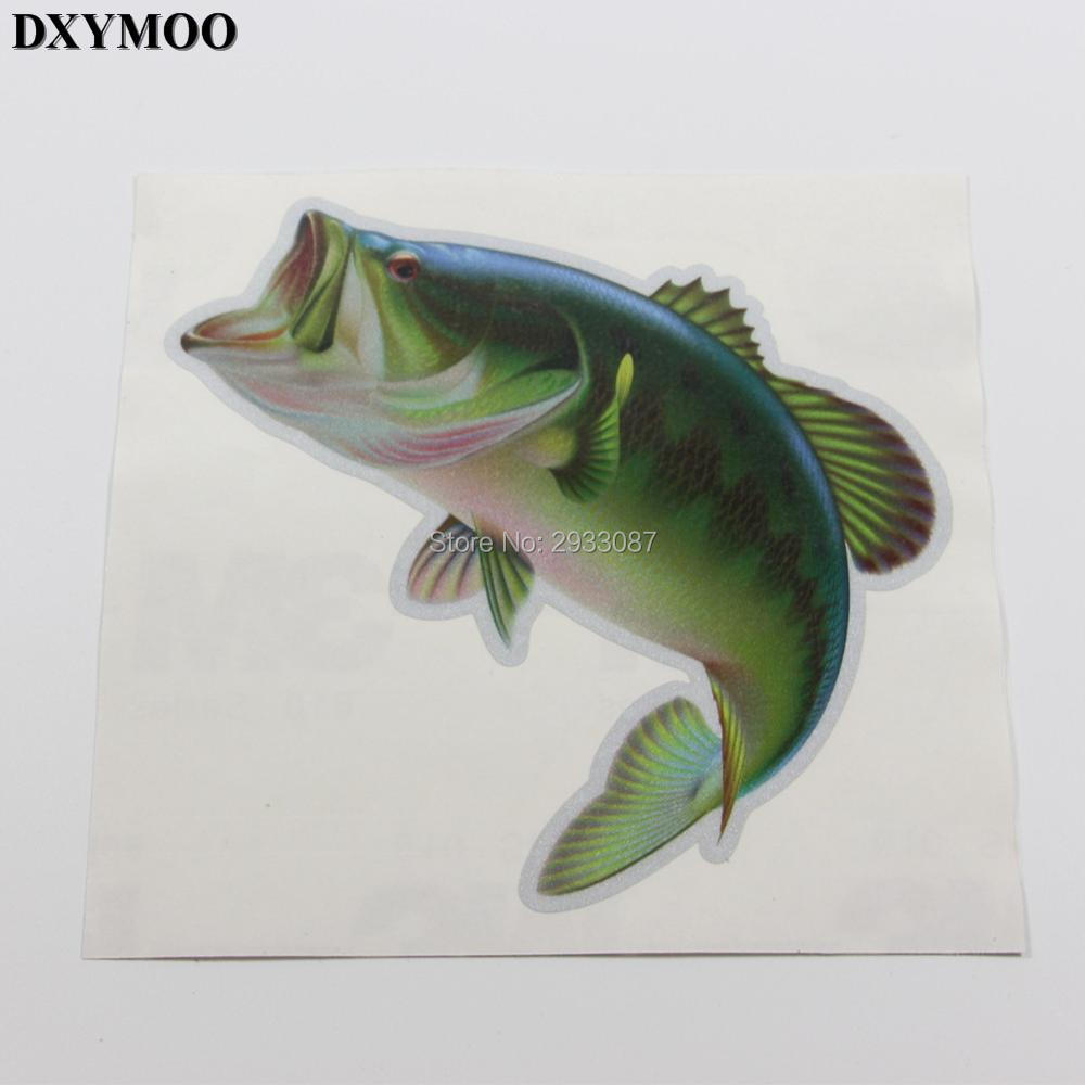 3 sizes Lure Funny Fishing Outdoor Sports Perch Car Sticker and Decals Vinyl for Car Window H3260 hot sale 1pc longhorn hilux 900mm graphic vinyl sticker for toyota hilux decals badges detailing sticker car styling accessories