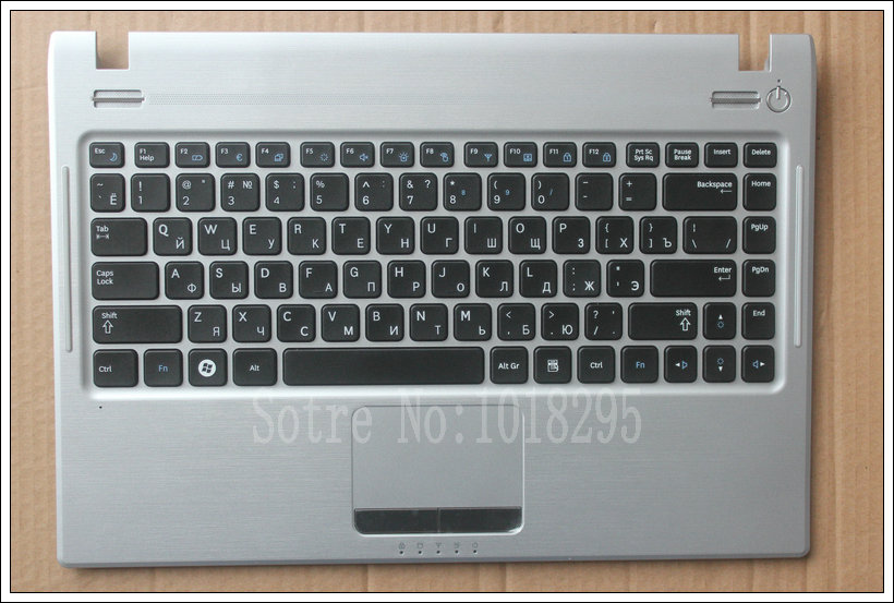 Russian  Keyboard for Samsung Q330 NP-Q330 RU Laptop keyboard Palmrest + Touchpad cover BA75-02685D BA75-02671C russian ru keyboard for samsung 300v5a 305v5a np300v5a with speaker and touchpad