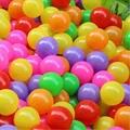 10 pçs/lote Eco Friendly brinquedo do bebê bola colorido bolas de plástico piscina oceano para o esporte para crianças jogos para crianças bola coloca 5.5 CM atacado