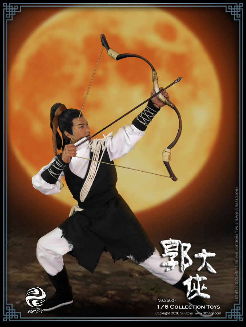 1/6 scale Collectible model plastic toys Chinese Martial arts figure doll Eagle Shooting Heroes Guo Jing 12 Action figure doll revell model 1 25 scale 85 7457 69 camaro z 28 rs plastic model kit