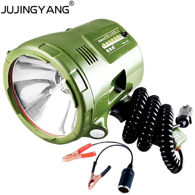12V HID hand light 35W,55W,65W,75W,100W,160W,220W h3 Xenon bulb Portable Spotlight Flahslight for hunting,camping,outdoor work