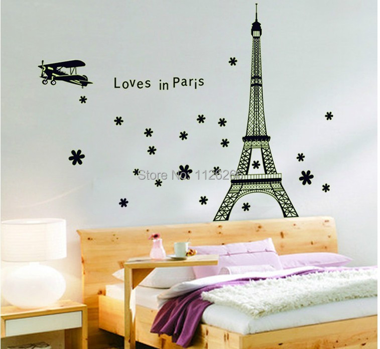 cheap urban furniture. love in paris eiffel tower noctilucence removable wall sticker mural urban decal home decor cheap furniture b