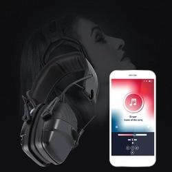 Deportes al aire libre Anti-ruido sonido amplificación disparo electrónico auricular táctico caza oído auriculares protectores Venta caliente