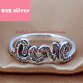 PJR041 FreeShipping 925 silver ring . love ring with stone luxury jewelry. LFashion New Design rings for woman