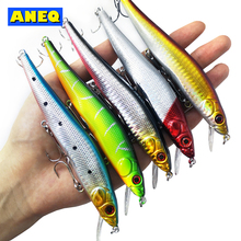 1PCS Minnow Fishing Lure Laser Hard Artificial Bait 3D Eyes 14cm/23g Wobblers Crankbait Minnows