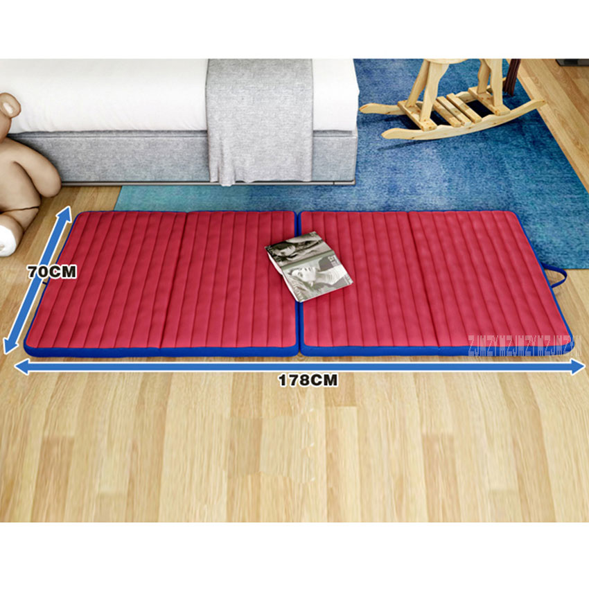 NJSF4ZD Living Room Modern Simple nap Tatami Mat Comfortable Folding Bed Multifunction Washable Sponge office Foldable Mattress