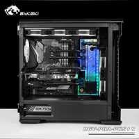 BYKSKI Acrilico Bordo Canale di Acqua Soluzione uso per Phanteks PK518 (Evolv X) caso/CPU GPU di Blocco/3PIN RGB/acrilico Serbatoio