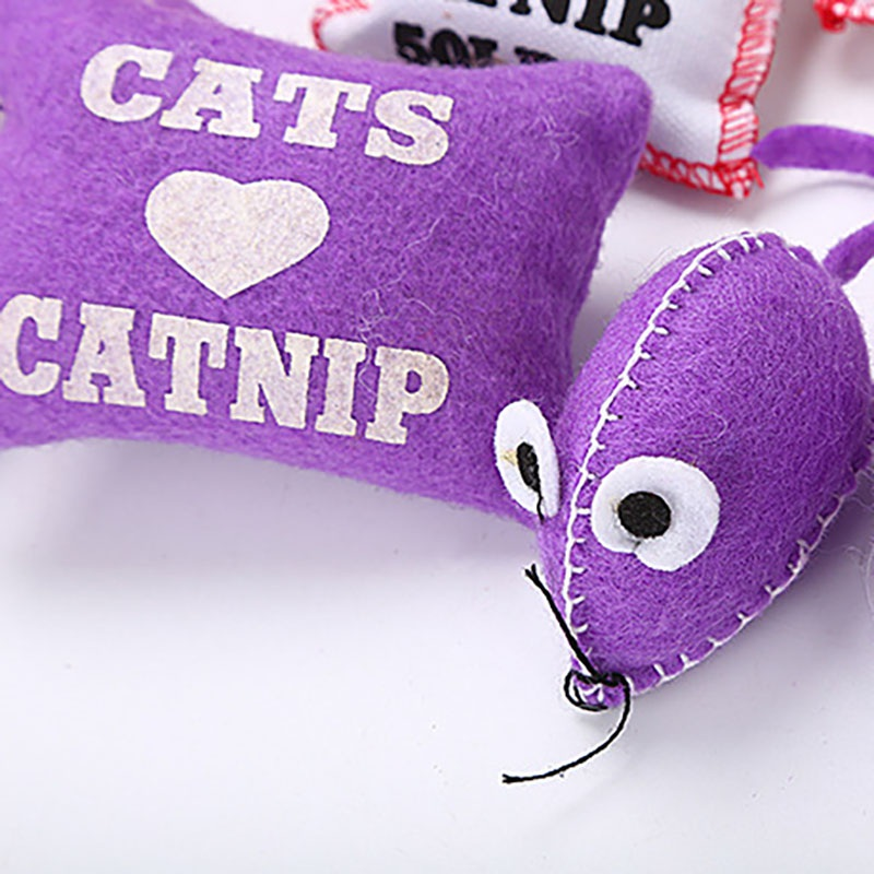 Pet cat bag catnip cat cat food bag resistant to bite mouse cat bag
