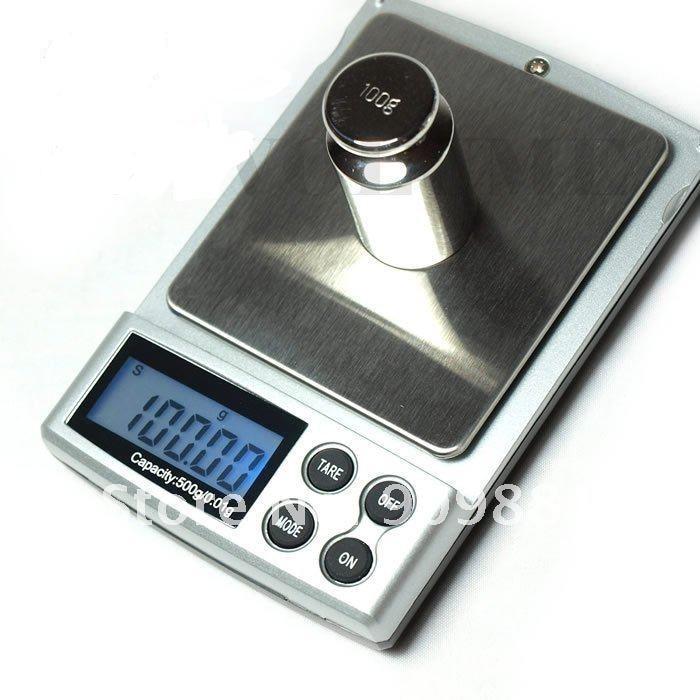 500 г, 0,01 г, портативные электронные весы, 500 г, 0,01 г, цифровые ювелирные карманные весы, ЖК-дисплей, кухонные весы для еды, весы с розничной коробкой