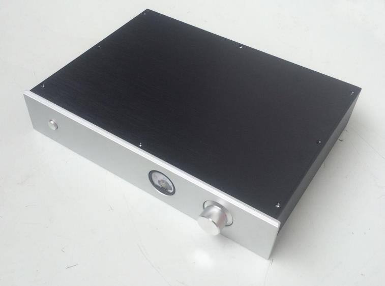 BZ4308H tout en aluminium préamplificateur châssis amplificateur boîtier Audio boîte de bricolage ampoule coque 430 MM * 80 MM * 308 MM