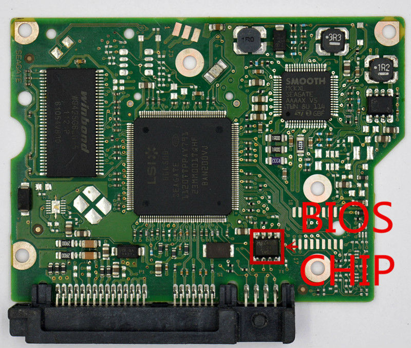 ST2000DL003 <font><b>ST2000DM001</b></font> hdd pcb for Seagate/ Logic Board/Board Number:100617465 REV A/B image