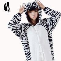 Lovly zebra Onesie Adult Pajamas Anime Pyjamas for Adults Women flannel Onesies Pijamas Enteros de Animales cosplay Onsie
