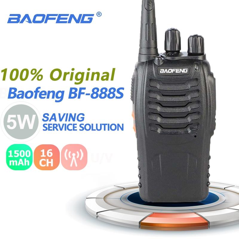 10 Pack Baofeng BF-888S 1500 mAh Two-Way Ham Radio Walkie Talkie Transceiver