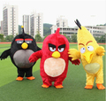 Long hairy Bird mascot costume fancy dress adult size same as photo nice looking ship to world wide