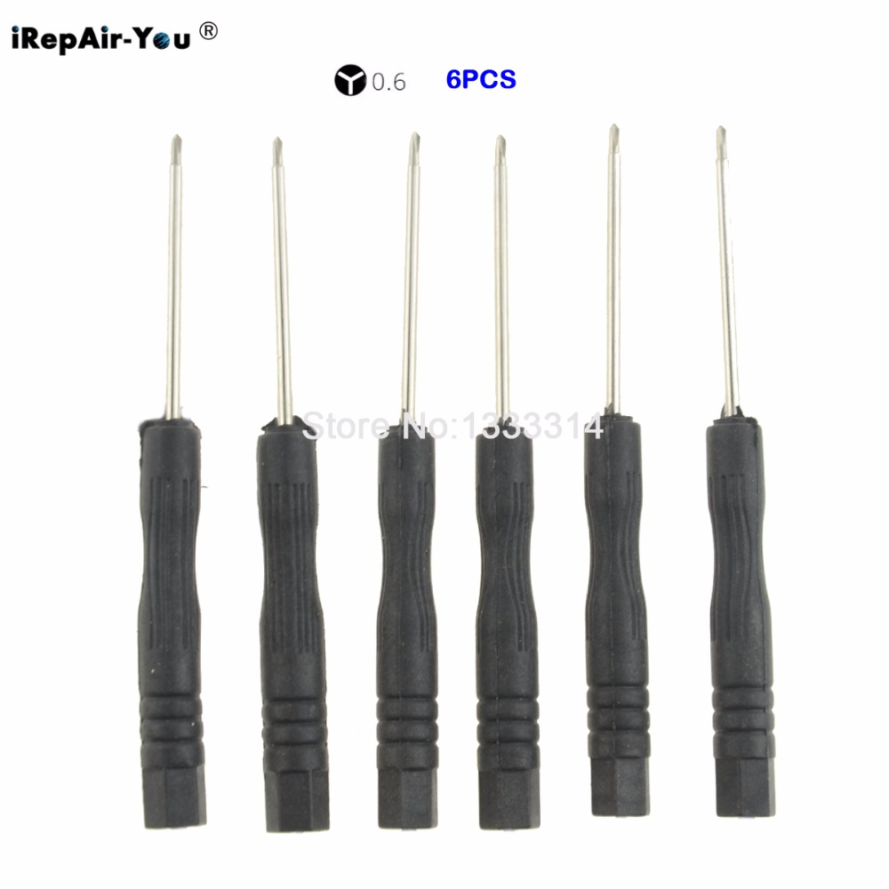 iRepair-You 6PCS/Lot Tri Wing Screwdriver Tri-Point 0.6 Y Screw driver Tip For iPhone