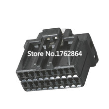 Black Automotive Plug Cable 175967-2 Connector Wiring Connector with terminals DJ7201C-1-21 20P usa original authentic 3m k2 wiring sub scotchlok tm two blades uy2 network telephone line terminals k2 cable wiring sub100pcs