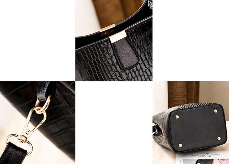 Women's Alligator Shoulder Bag