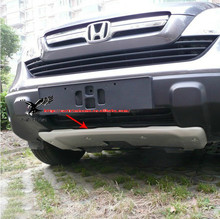 Высококачественная Нержавеющая Сталь Передняя и Заднего Бампера Протектор Защитная Пластина Для Honda CRV 2007 2008 2009
