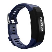 Smartch H28 умный Браслет фитнес-Bluetooth браслет монитор сердечного ритма напоминание сенсорный экран OLED Экран группа PK CK11 A09 F1 C1