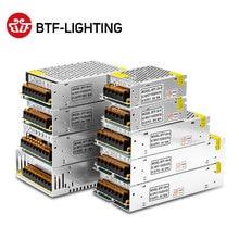 5 в 2A/3A/4A/5A/8A/10A/12A/20A/30A/40A/60A переключатель светодиодный источник питания Трансформаторы WS2812B WS2801 SK6812 SK9822 APA102 Светодиодная лента