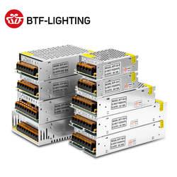 5 V 2A/3A/4A/5A/8A/10A/12A/20A/30A/40A/60A переключатель светодиодный Питание Трансформеры WS2812B WS2801 SK6812 SK9822 APA102 Светодиодные ленты
