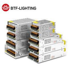 5 V 2A/3A/4A/5A/8A/10A/12A/20A/30A/40A/60A переключатель светодиодный Питание трансформаторы WS2812B WS2801 SK6812 SK9822 APA102 Светодиодные ленты