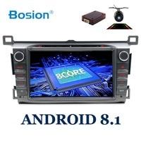 HD Octa 8 Core 2 din car radio GPS Android 8.1 Car DVD Player For Toyota RAV4 RAV 4 2013 2014 2015 2016 radio cassette recorder