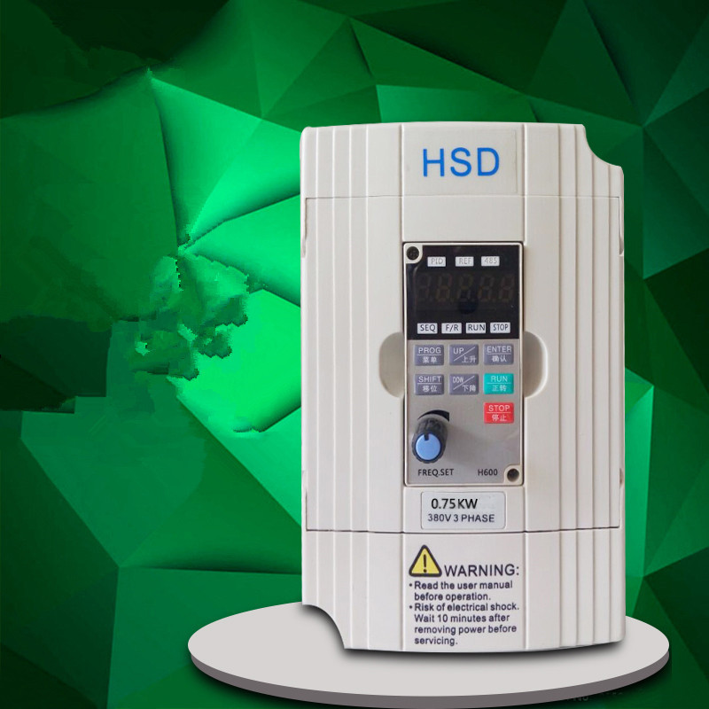 0.75KW 1HP 400HZ VFD Inverter Frequency converter single phase 220v input 3phase 380v output 2.5A for 0.5HP motor vfd110cp43b 21 delta vfd cp2000 vfd inverter frequency converter 11kw 15hp 3ph ac380 480v 600hz fan and water pump