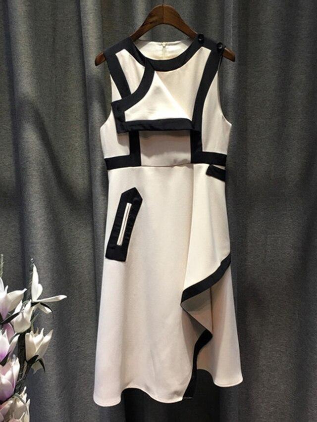 Filles Élégant Lady D'été Nouvelles Pictures Blanc Manches Femmes 2017 As Sexy Marque Casual Sans Robes De Dress Design Vêtements 6xrq6Z