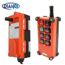 AC 220 V 110 V 380 V 36 V DC 12 V 24 V 48 V télécommande industrielle grue contrôle grue ascenseur grue 1 émetteur + 1 récepteur